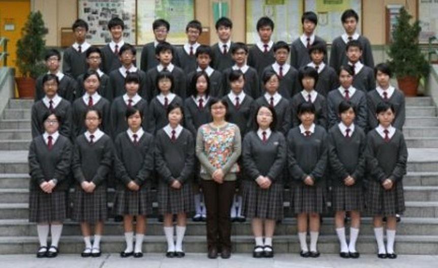 聖公會林裘謀中學 2009-2010 F.3B