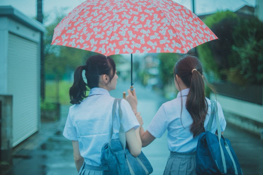 下雨的天氣
