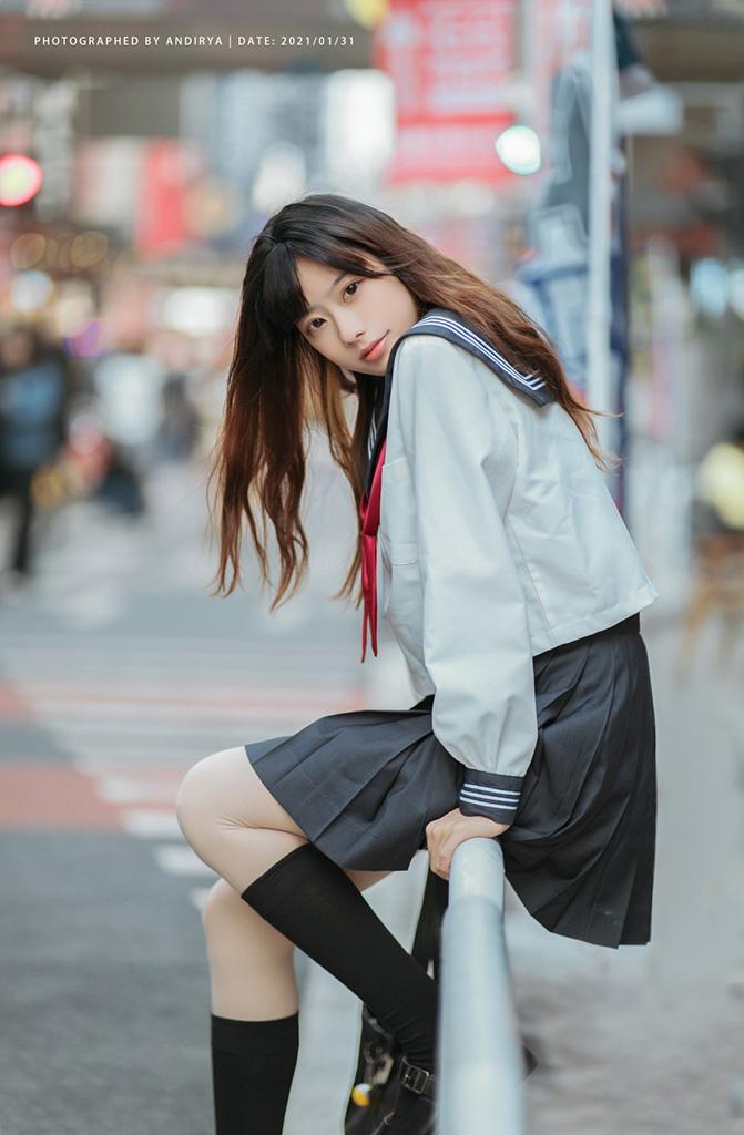 JK 美少女